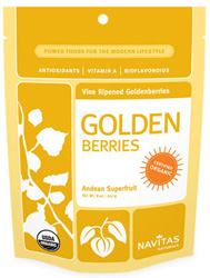 Organic Raw Golden Berries by Navitas Naturals