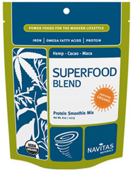 Organic Raw Superfood Protein Smoothie Mix by Navitas Naturals