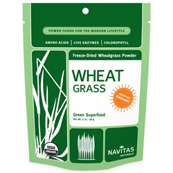 Organic Freeze-Dried Wheatgrass Powder by Navitas Naturals