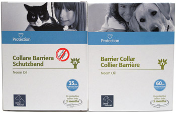 Neem Oil Insect Repelling Collars for Cats and Dogs by Orme Naturali