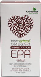 New Harvest Vegan EPA Supplement by Futurebiotics
