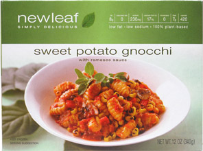 Sweet Potato Gnocchi with Romesco Sauce by NewLeaf