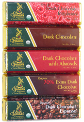 Sjaaks Organic Chocolate Bars