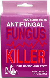 No Miss Fungus Killer for Hands and Feet