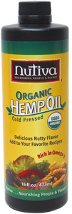Organic Cold-Processed Hemp Seed Oil by Nutiva