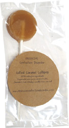 Salted Caramel Lollipops by Obsessive Confection Disorder