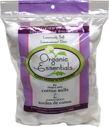 Organic Cotton Balls by Organic Essentials