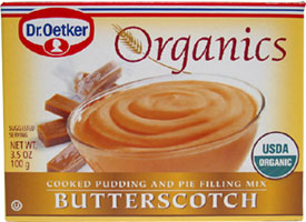 Dr. Oetker Simple Organics Pudding / Pie Filling Mixes