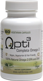 Opti3 Complete Omega-3 DHA/EPA Supplement