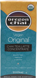 Organic Vegan Chai Tea Latte Concentrate by Oregon Chai