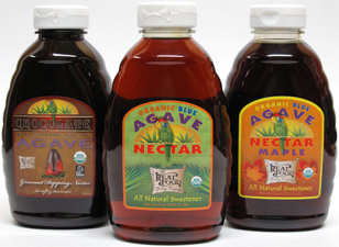 Organic Flavored Agave Nectars by The Real Food Trading Co.