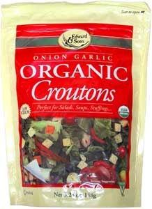 Organic Croutons by Edward & Sons