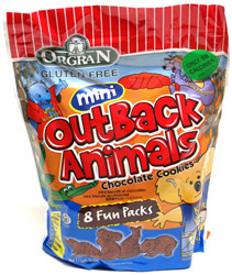 Orgran Gluten-Free Mini Outback Animals Cookies