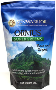Raw & Organic Ormus SuperGreens by Sun Warrior