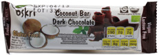 Organic Dark Chocolate Covered Coconut Bar by Oskri