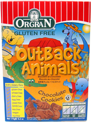 Orgran Gluten-Free Outback Animals Cookies