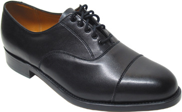 Men�s Comfort Oxford by Sanders � Black