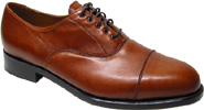 Mens Comfort Oxford by Sanders  Brown