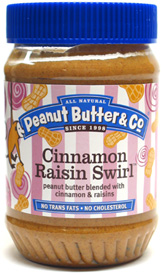 Cinnamon Raisin Swirl Peanut Butter by Peanut Butter & Co.