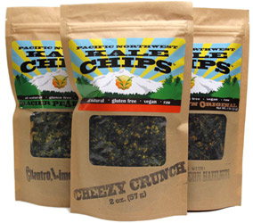 Pacific Northwest Raw Organic Kale Chips
