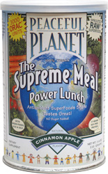 Peaceful Planet Power Lunch Supreme Meal