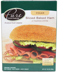 Vegan Sliced Baked Ham by Pure Vegetarian