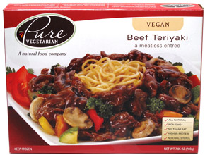 Vegan Teriyaki Beef Chunks by Pure Vegetarian