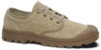 Pampa Oxford by Palladium – Men's Stone/Dark Khaki