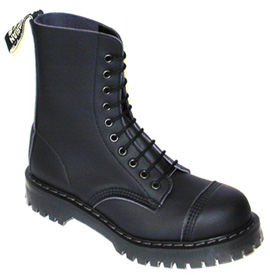 Airseal Steel-Toe Para Boot by Vegetarian Shoes - Black