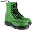 Airseal Steel-Toe Para Boot by Vegetarian Shoes - Green