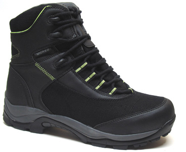 Path Finder Hemp Hiking Boot by Wicked Hemp � Men�s Black