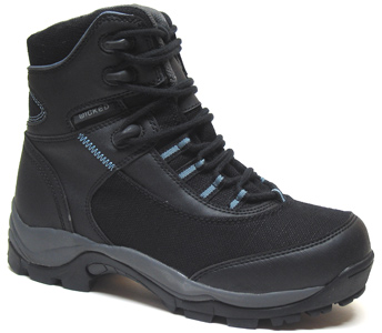 Path Finder Hemp Hiking Boot by Wicked Hemp  Womens Black