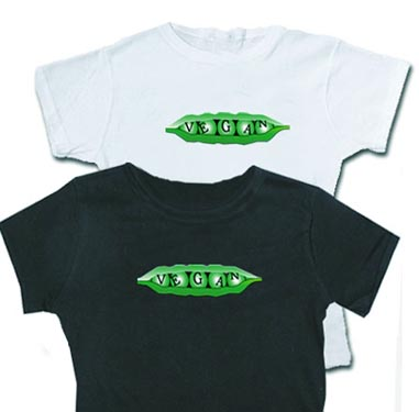 Women's Vegan Pea Pod shirt