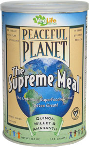 "Peaceful Planet ""Supreme Meal"" Superfoods Shake Mix"