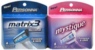 Personna Replacement Blades for Mystique and Matrix 3