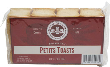 Imported Petits Toasts by Three Little Pigs