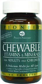 Chewable Multi-Vitamin and Mineral Formula by Pioneer