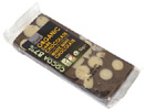 Organic Dark Chocolate Bar with White Mint Buttons by Plamil