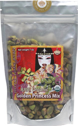 Raw Organic Royal Himalayan Golden Princess Mix