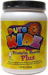 Pure Kidz Protein Power Plus � Vanilla Flavor