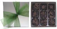 9-Piece Chocolate Raisin Clusters by Rose City