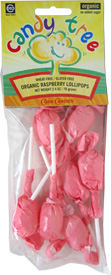 Organic Berry Lollipops by Candy Tree
