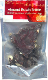 Divine Organics Raw Chocolate Brittle