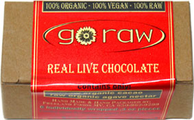 Organic Raw Vegan Chocolate Truffles by Go Raw