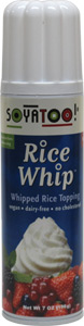 Rice Whip Vegan Whipped Topping by Soyatoo