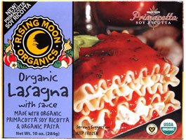 Vegan Organic Lasagna with Sauce by Rising Moon Organics