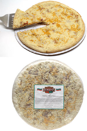 Rossini�s Gourmet Vegan Cheese Pizza (made with Daiya vegan cheese)
