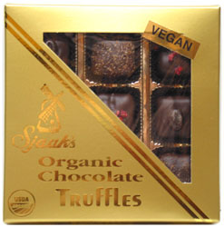 Sjaak�s Organic 9-Piece Vegan Truffle Assortment