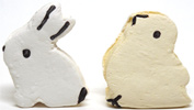 Easter Marshmallow Bunny & Chick by Sweet & Sara