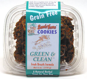 Sam�s Yams Grain-Free Vegan Dog Cookies